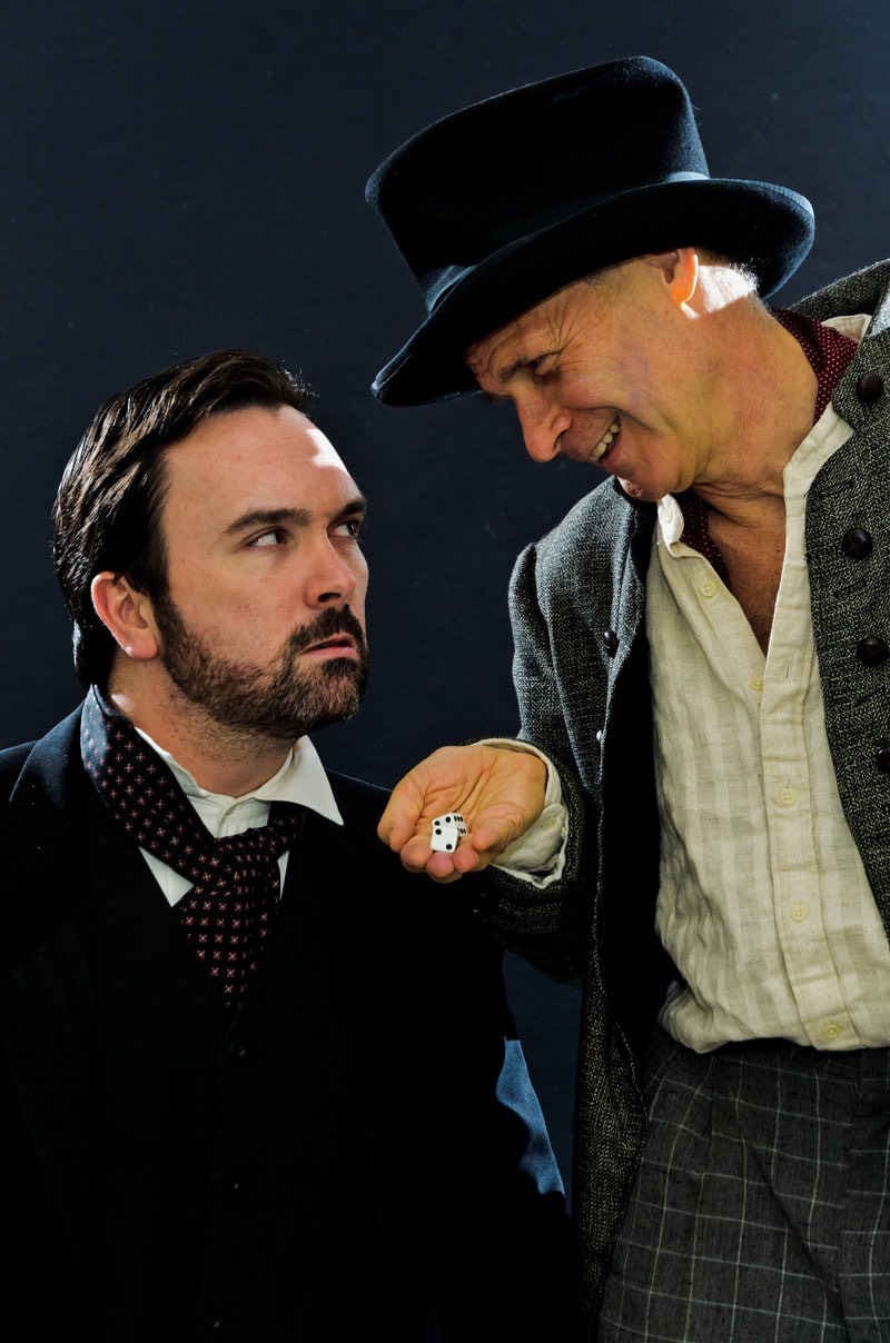 Brian McAloon and David Arthur Bachrach in THE CHRISTMAS BRIDE