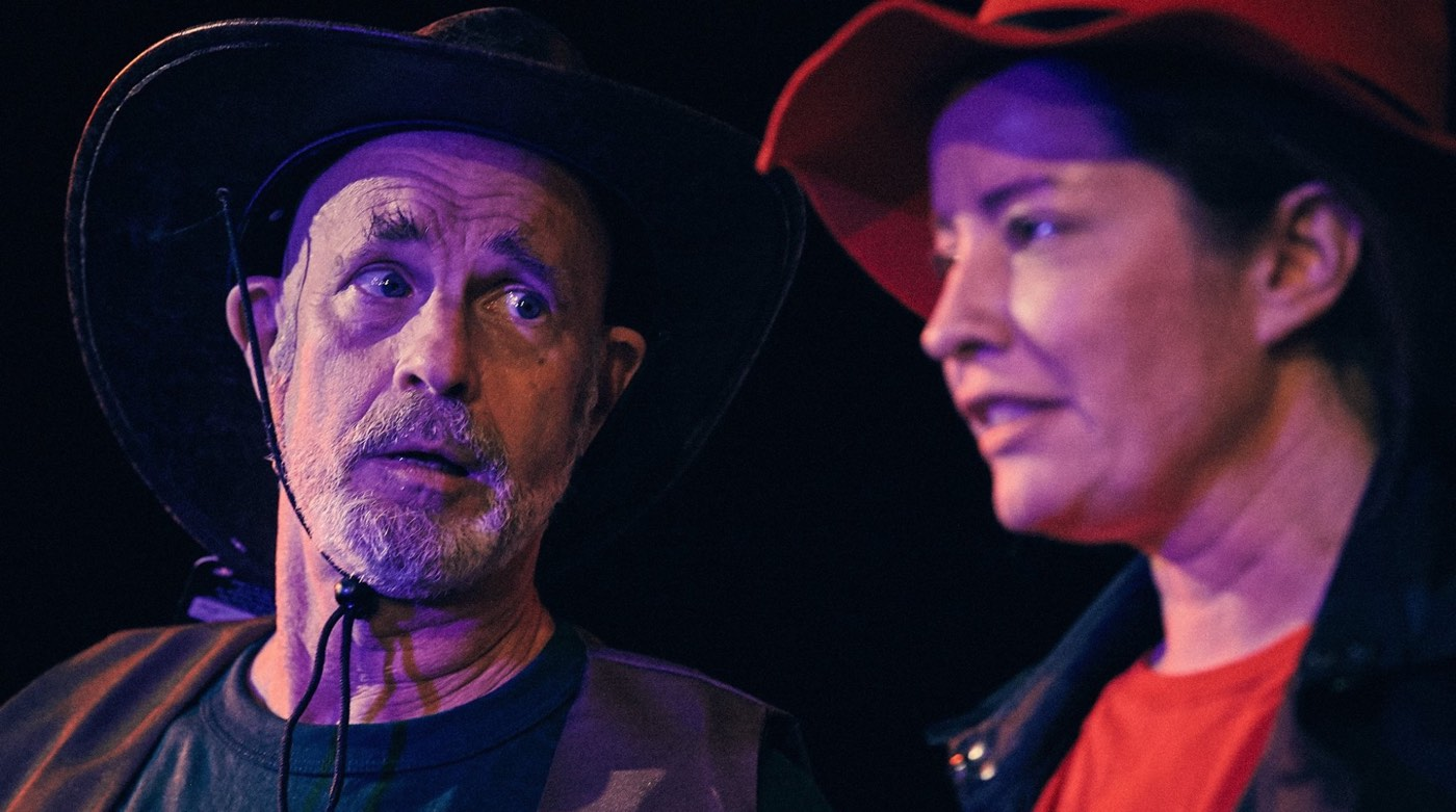 ReFUSE - The Cowboy and The Detective, with Alyssa Simon, photo by Mark Veltman