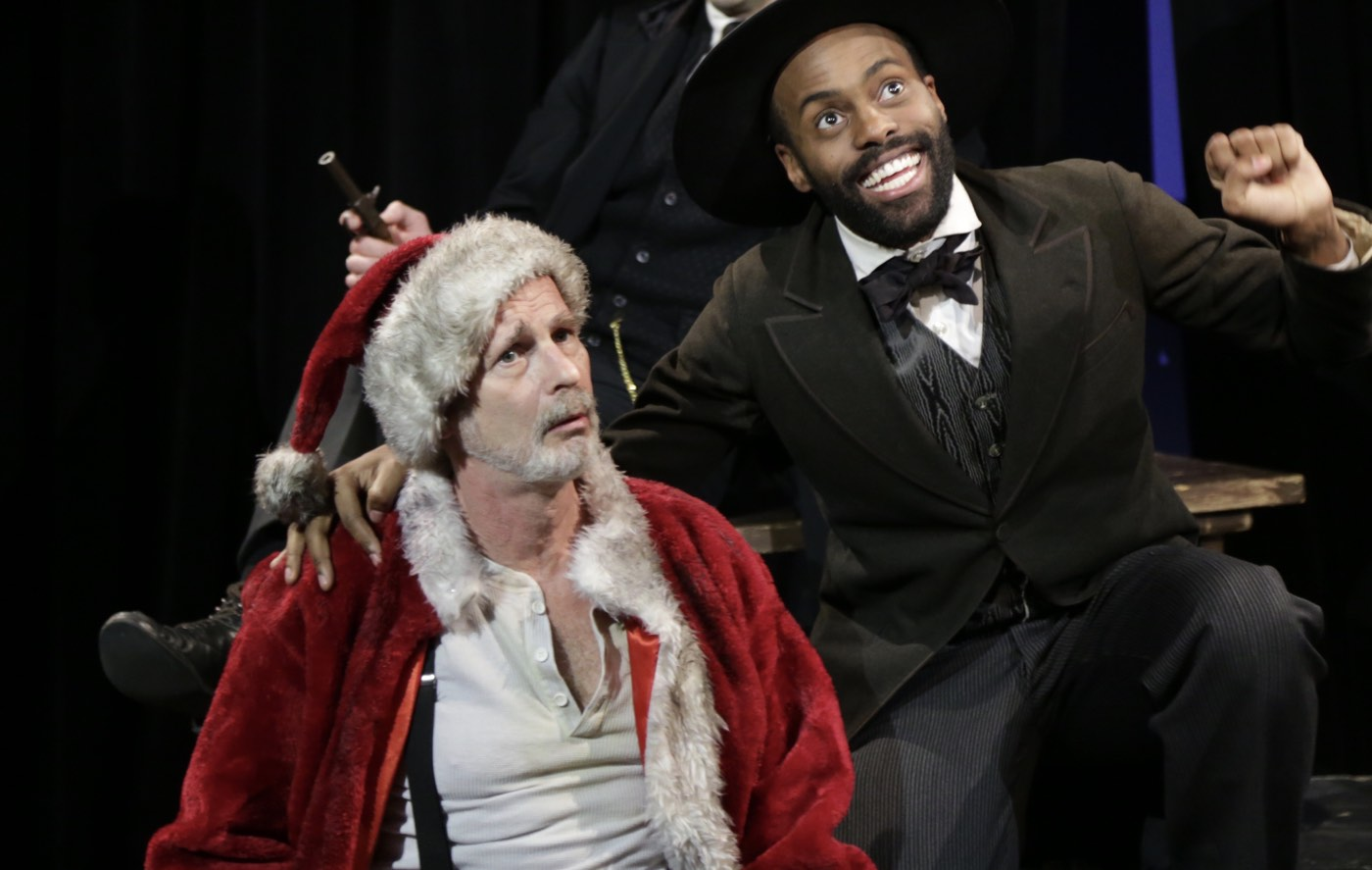 Assassins - Byck and Guiteau, with Danny Wilfred, photo by Gerry Goldstein